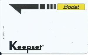 Un badge de l'APBH