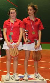 Loréa, à gauche, championne de France