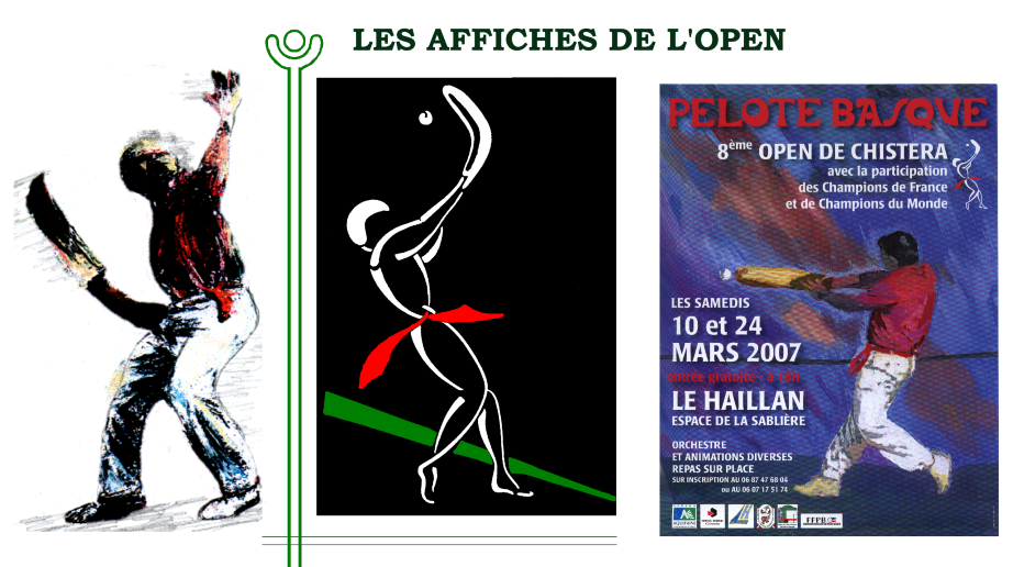Affiches Open